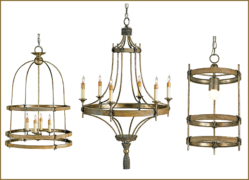 Hammerworks/ Colonial Wooden Chandeliers - Lighting By Hammerworks