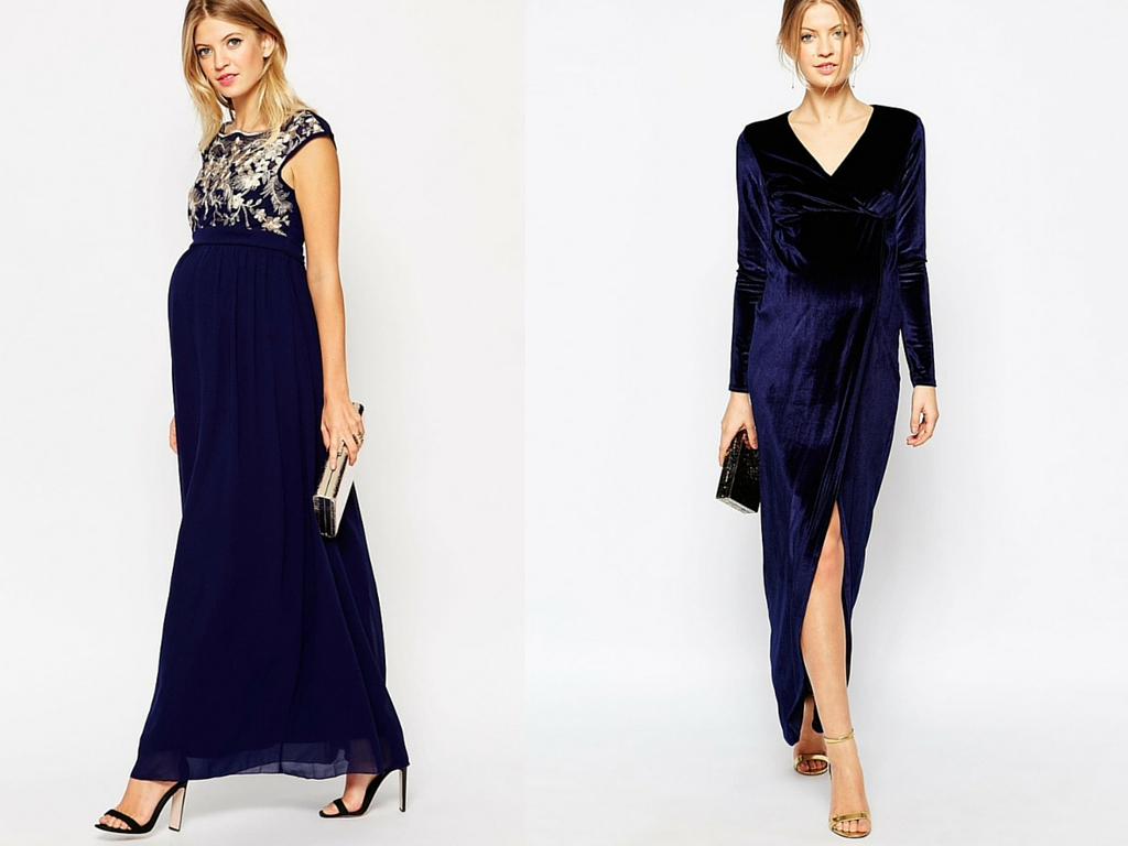 Glama mama the chicest maternity holiday dresses lakatwalk maternity maxi evening gowns ombrellifo Gallery
