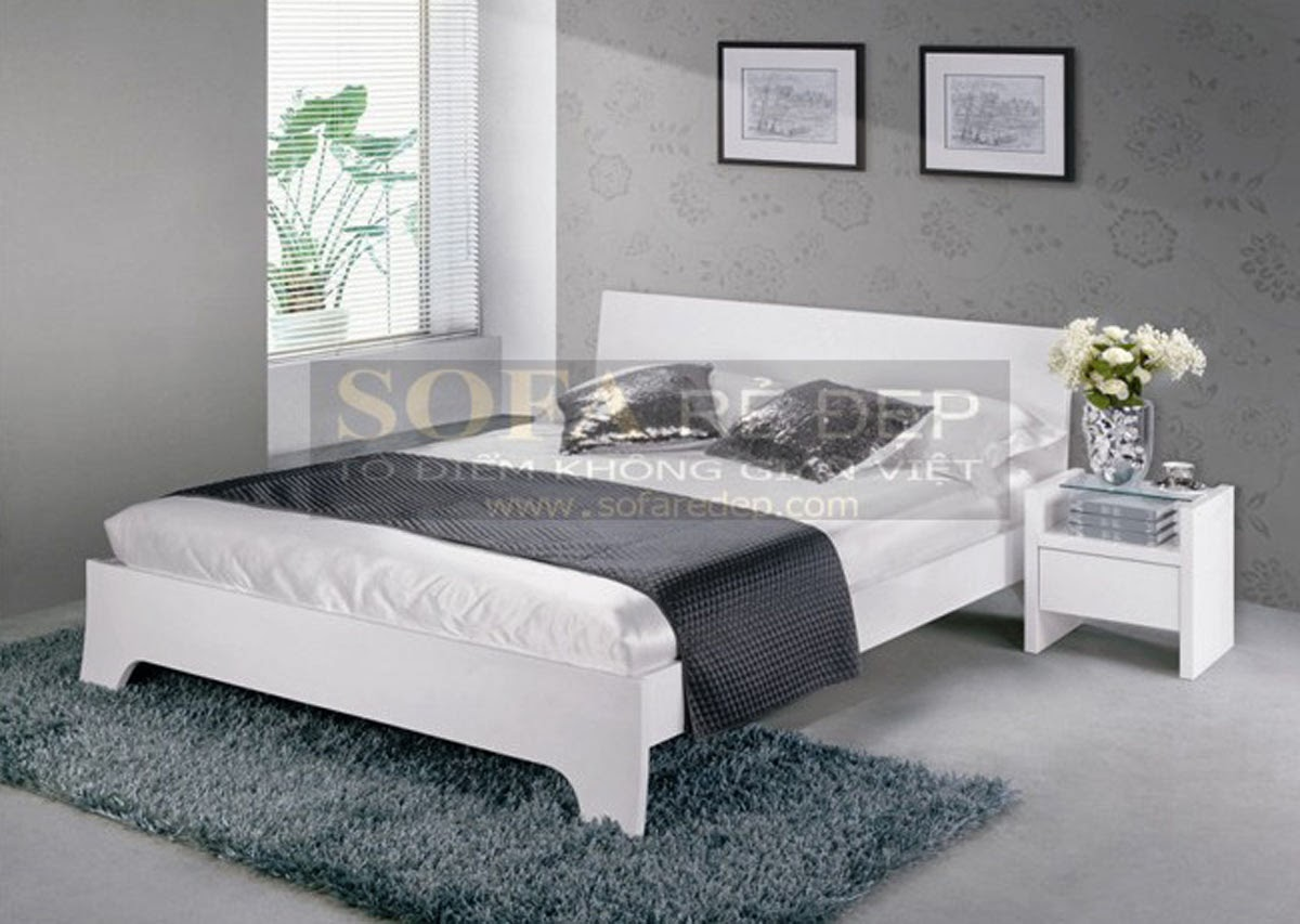 Giường ngủ GN018