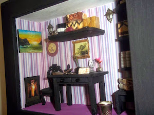 Room Box - Escritor