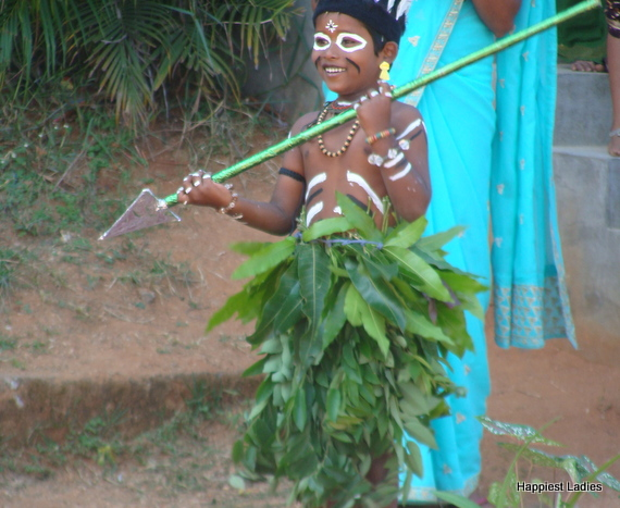 tribe people fancy dress