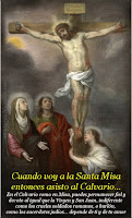 Tríptico explicativo del Santo Sacrificio de la Misa