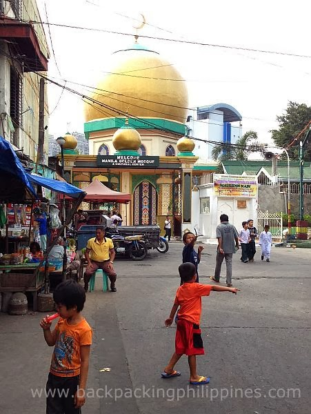 the quiapo golden mosque Eid'l fitr thousands of muslims celebrate eid'l-fitr, which marks the end of ramadan, at the vicinity of the golden mosque in quiapo, manila on friday (june 15.