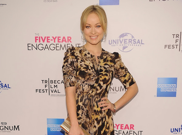 Olivia Wilde at The Five Year Engagement Premiere in New York
