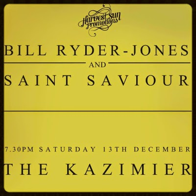 Bill Ryder-Jones Saint Saviour The Kazimier Liverpool