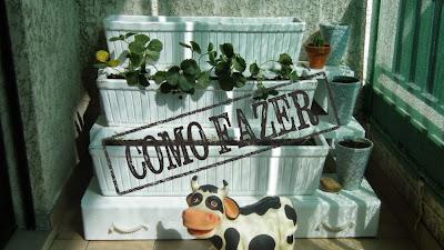 Como fazer: decoração de horta na varanda