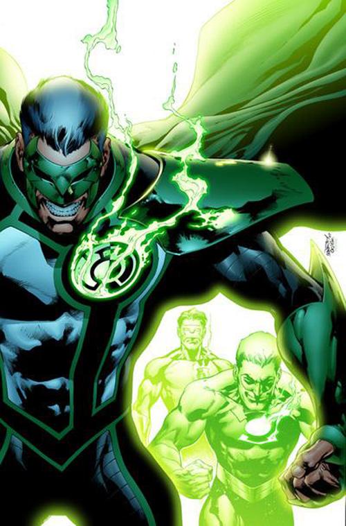 green lantern, evolucion, comics, años 90,