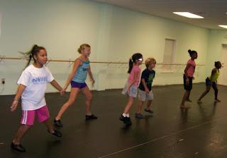 jazz summer dance class kids charlotte