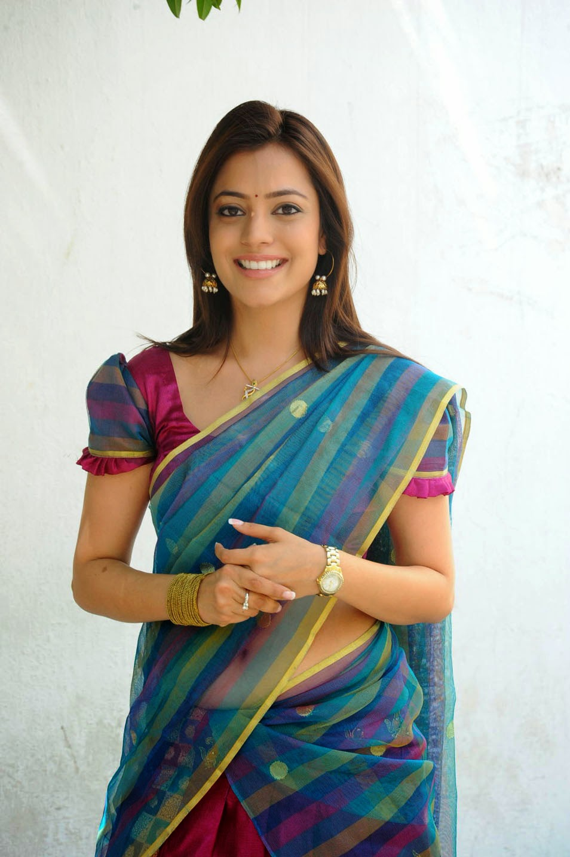 Nisha Agarwal Hot Navel Show Half Saree Stills Swapna Tamil