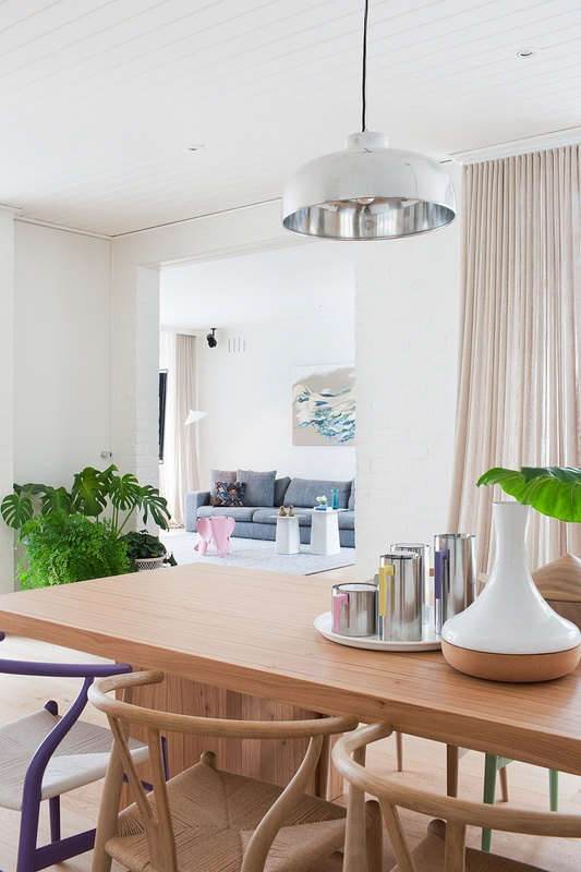 T d c homes to inspire passion for pastels for Guthrie dining