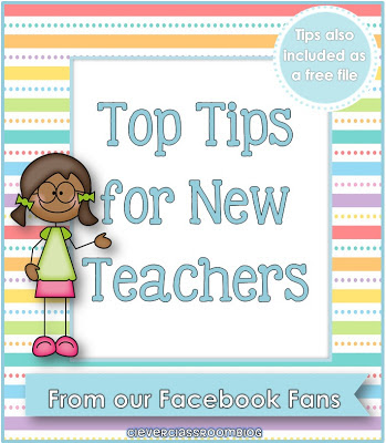 Image of Top Tips for New Teachers from our Facebook Fans