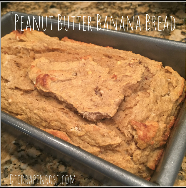 Deidra Penrose, Clean eating, easy healthy recipes, coconut flour, coconut oil, natural peanut butter, banana recipe, 21 day fix recipes, successful beachbody coach PA, weight loss tips , peanut butter banana bread, health banana bread recipe, healthy breakfast recipes, healthy dessert recipe, weight loss motivation, fitness motivation, fitness accountability, healthy mom, healthy eating tips, healthy recipe with applesauce