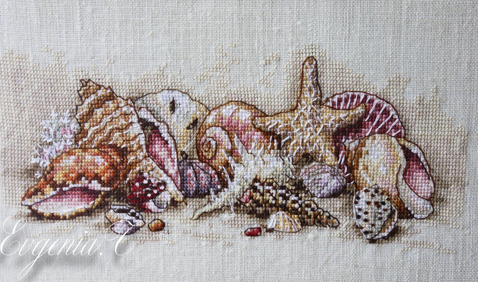 Схема вышивки в пастельных тонах 59