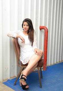 Telugu Actress Himani Latest  Pictures in Short Dress at Jyothi Lakshmi Audio Launch  17.jpg