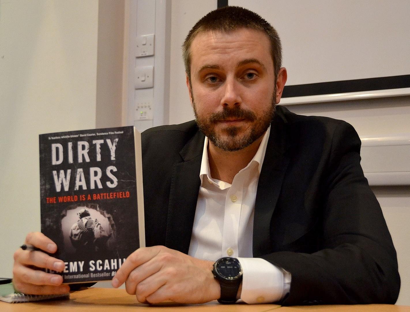 Jeremy Scahil writes Anti-American propaganda books