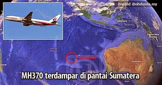 Misteri Bakal Terjawab, Bangkai MH370 Terdampar di Pantai Sumatera?