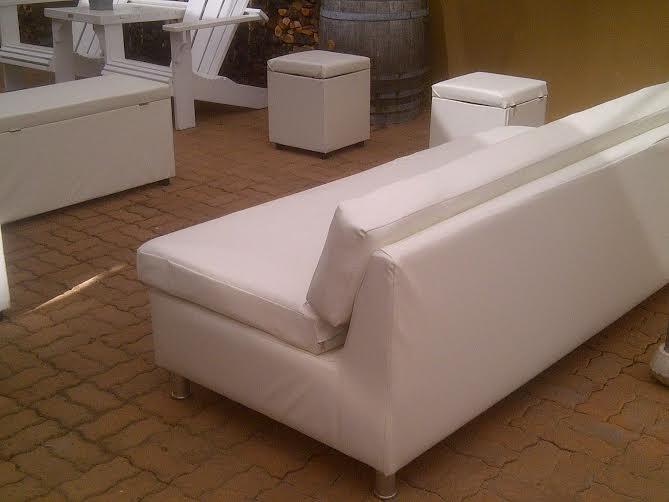 White Studio Couch