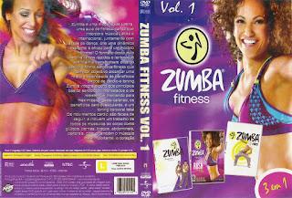 DVD Zumba Fitness – 3 Em 1 – Vol.1
