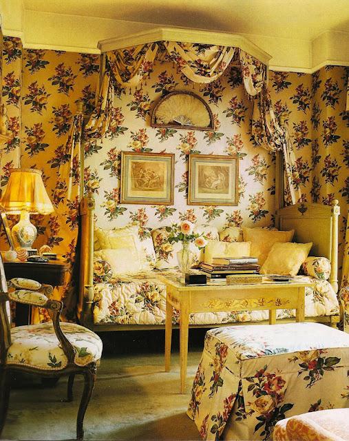 eye for design decorating rose patterned interiors
