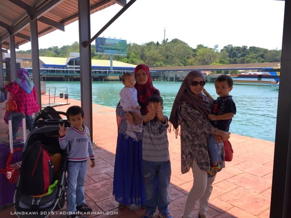 short vacation trip to Langkawi - kuah jetty