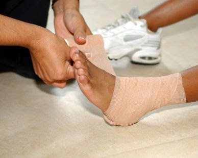 SPRAINS TIPS AND TREATMENT