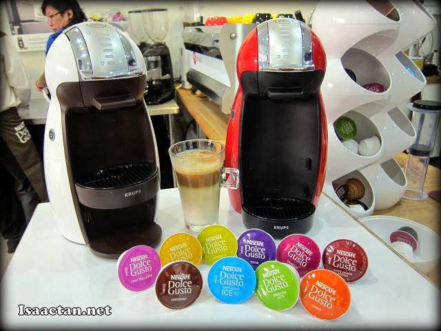 The coffee making gadget Nescafe's Dolce Gusto Genio