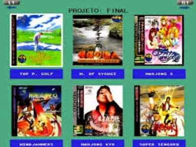 NeoGeo-CD Projeto FINAL Ps2 Iso juegos para playstation 2