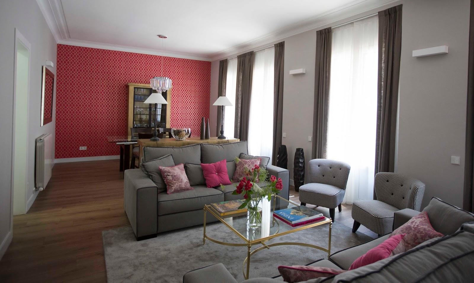 Pia capdevila interiorismo eventos suelos y paredes de - Combinar colores paredes salon ...