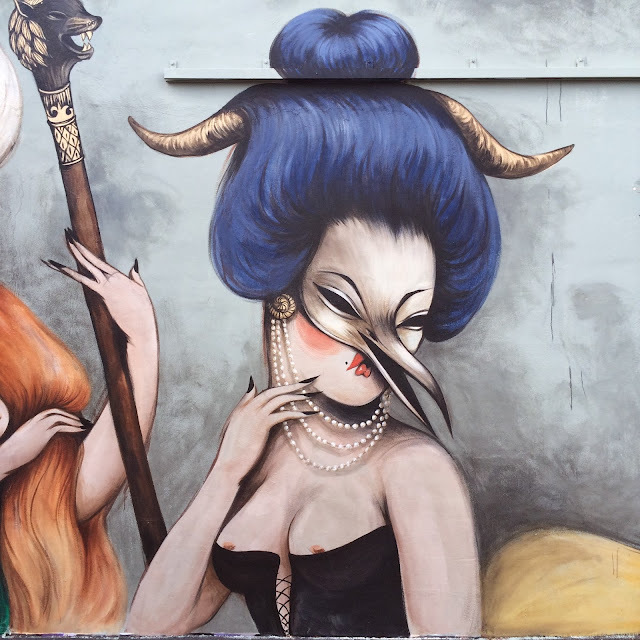Street Art By French Artist Miss Van At The Wynwood Walls In Miami, USA. 4