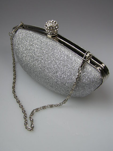 crystal clasp with purse ball collection sparkly bag watches clutch fashion glitter silver p