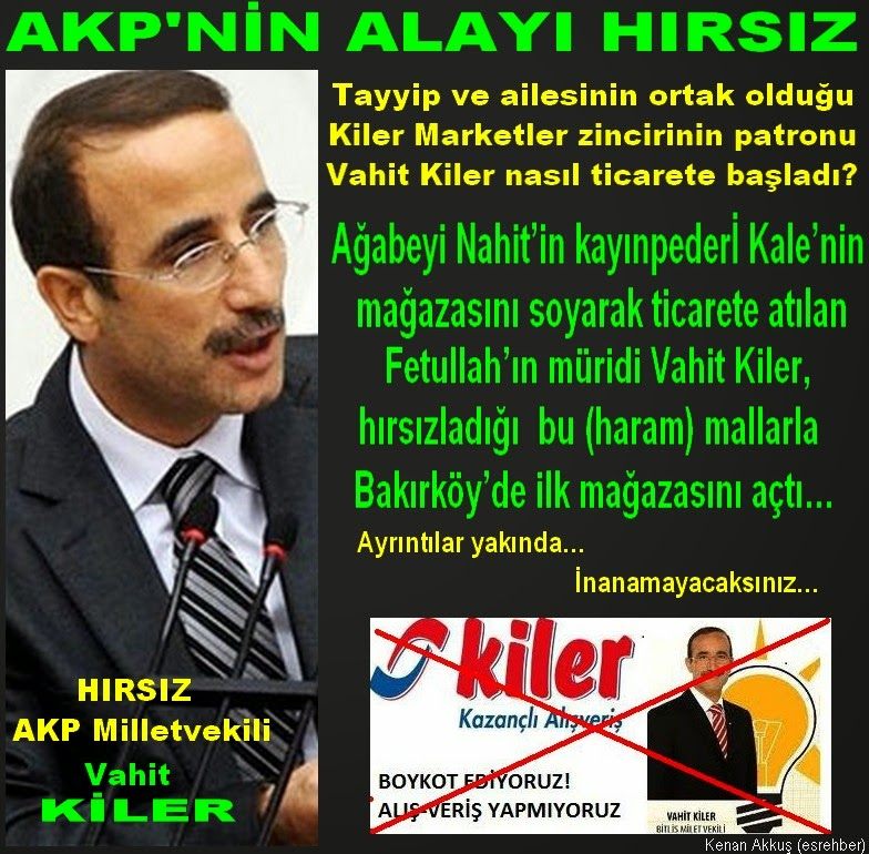 HIRSIZLIK AKP'LİLERİN MAYASINDA VAR