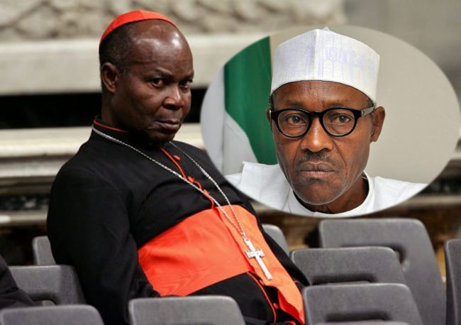 Cardinal Okogie: Buhari's Government Is Lopsided, Disordered And Leading Nigeria Back To Military Rule