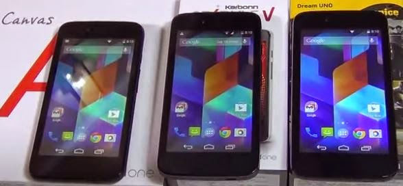 Android one Design in India