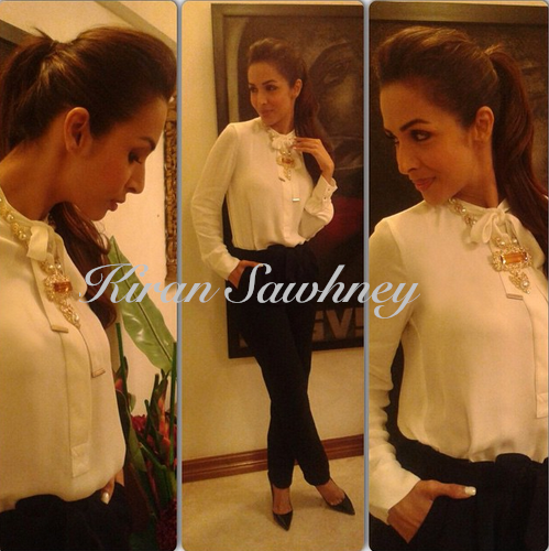 Malaika Arora Khan at Jamuna Pai's book launch