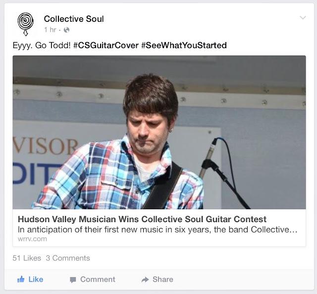 Hudson Valley musician wins guitar!