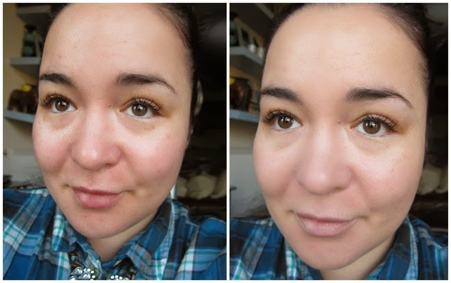 Bourjois CC Cream Before and After