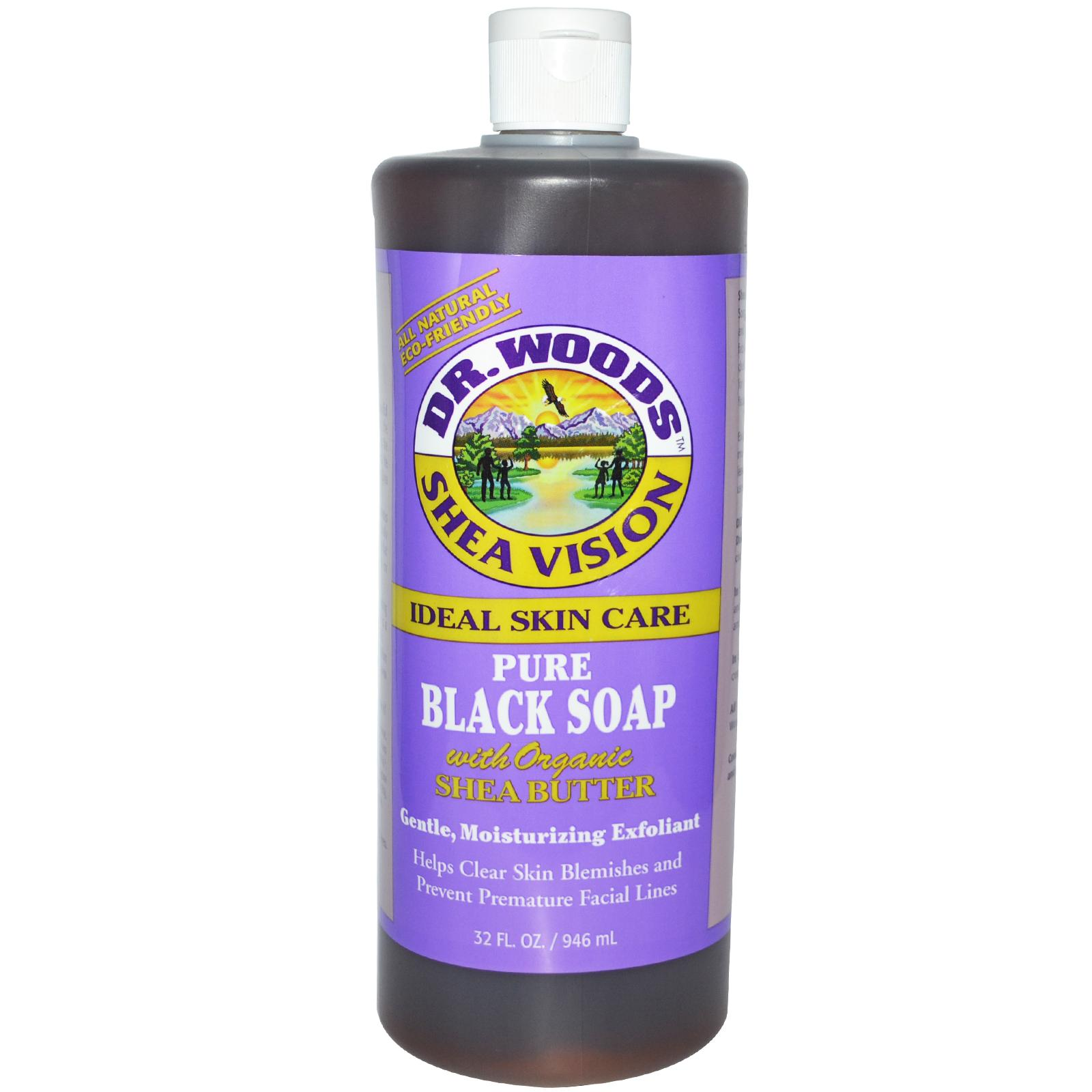 The Second Thought Dr Woods Shea Vision Pure Black Soap