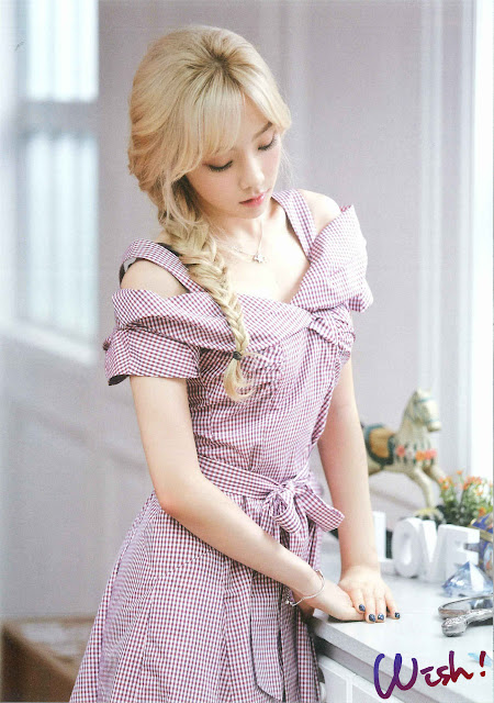 Steal Taeyeon's Sweet Look: Gingham Dress