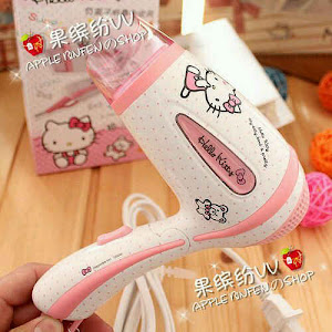 Hairdryer hello kitty
