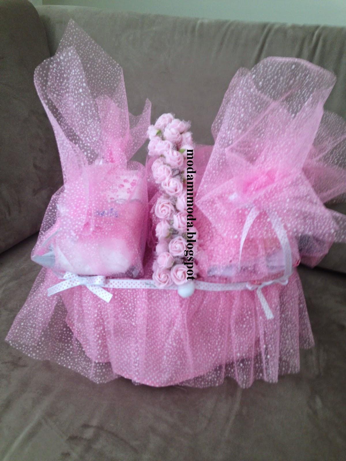 kız bebek hediye süsleme
