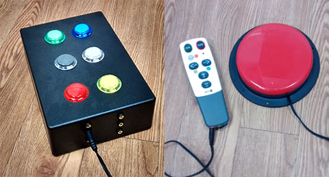 OneSwitch switch adapted environmental controls for a multi sensory room aka Snoezelen.