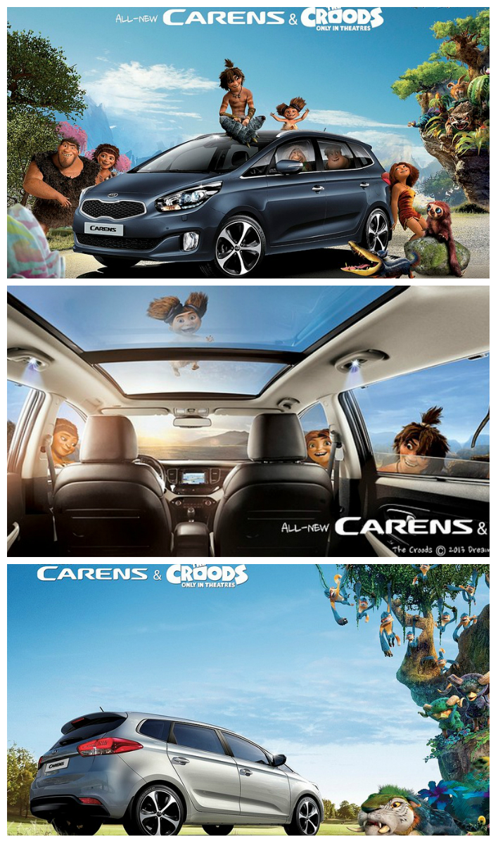 The Croods Hit the Road in Kias Stylishly New Carens   Century