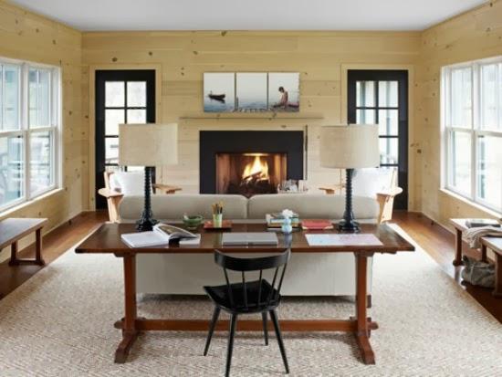 scrivania per soggiorno: arredamento soggiorno classico bianco ... - Creare Angolo Studio In Soggiorno 2