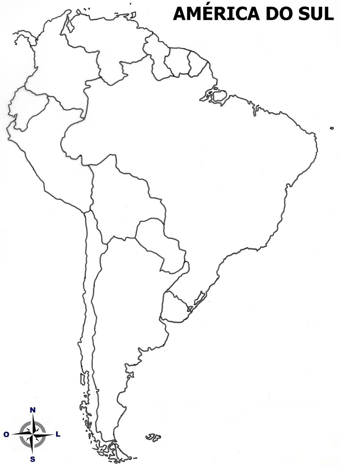 Mapa De Amrica Completo