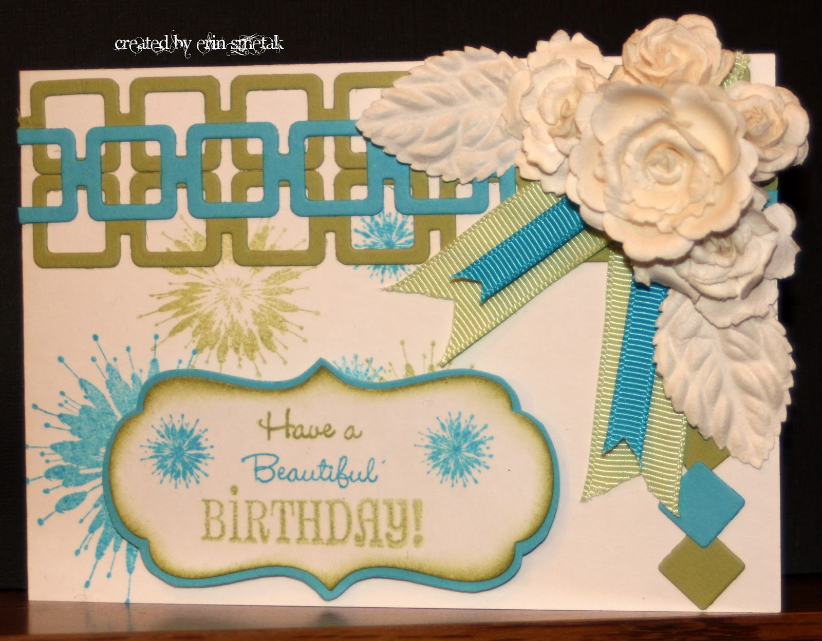 Birthday Cards For Teachers Ideas ~ Erin's craft ideas: birthday cards for teachers