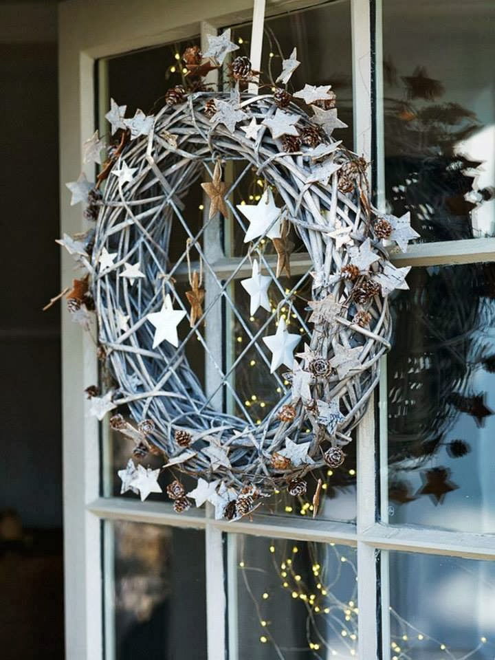 Shabby in love decor christmas with stars decorate your windows stairs walls and mantel add stars to the centerpiece and enjoy your christmas holidays solutioingenieria Image collections