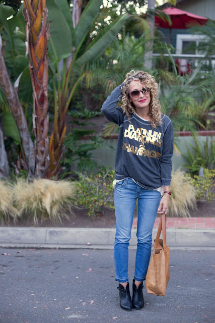 chasebrand sweatshirt, current elliott jeans, nordstrom anniversary sale
