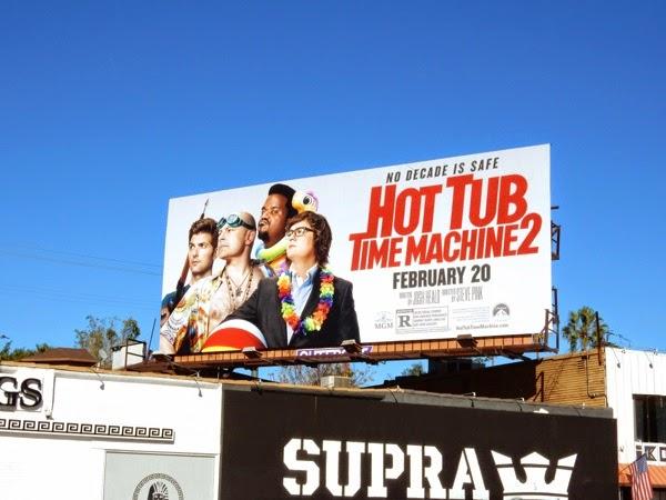 Hot Tub Time Machine 2 movie billboard