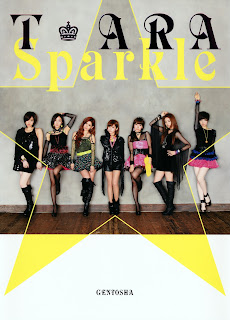 T-ara Sparkle Photobook cover