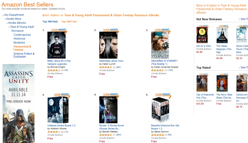 http://www.amazon.com/Best-Sellers-Kindle-Store-Teen-Young-Adult-Paranormal-Urban-Fantasy-Romance-eBooks/zgbs/digital-text/7006650011/ref=zg_bs_fvp_p_f_7006650011?_encoding=UTF8&tf=1